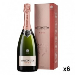 Champagne Rose 75 cl avec...