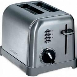 Toaster acier brosse 2...