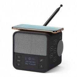 Radio-reveil bluetooth 3 en...