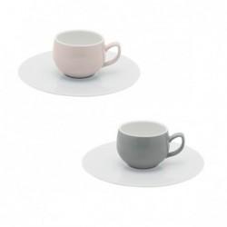Coffret 2 tasses espresso...