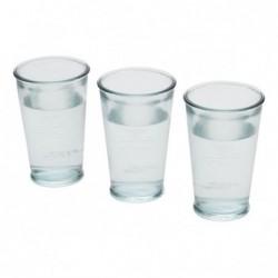 Set de 3 verres à eau