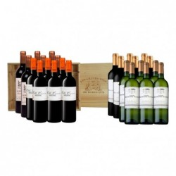 Vin rouge et blanc Coffret...