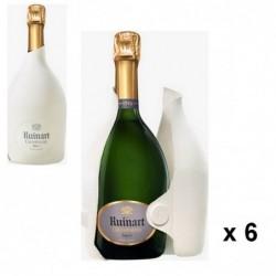 Champagne Brut R de Ruinart...